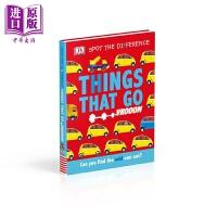 【中商原版】DK:Things That Go DK点点启蒙:交通工具 英文原版 进口图书 亲子低幼 触摸书纸板书 2-