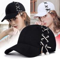帽子女户外运动棒球帽时尚防晒帽子韩版潮流出游春鸭舌帽