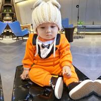 20180506192908063女婴儿衣服6个月宝宝长袖套装新生儿秋冬装套