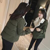 冬季短款棉衣女韩版新款学院风加厚小棉袄女学生保暖外套