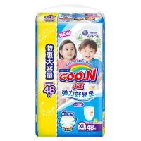 GOO.N 大王 短裤式纸尿裤 维E系列 XL48片
