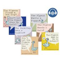 【首页抢券300-100】The Pigeon 鸽子系列7册 幼儿早教英语绘本启蒙故事 儿童英文读物 凯迪克大奖 情商培