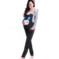慈颜CIYAN 韩版秋冬装时尚孕妇装 可爱孕妇裤 孕妇背带裤 长裤WML0146