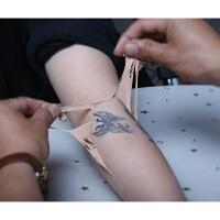 纹身遮盖胎记疤痕白斑遮盖遮瑕膏遮挡强力隐形痣假皮贴 双色套装+工具