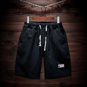休闲男短裤修身五分裤夏季沙滩 短裤