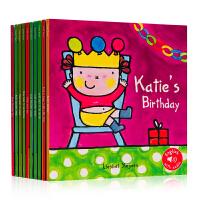 凯文凯蒂生活体验系列10册 Kevin Katie 英文原版绘本 儿童英语启蒙 图画故事书 亲子阅读0-3/3-6岁 进