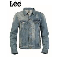 Lee 【断码】牛仔外套男士夹克春夏潮修身型立领衣服男装L12528C76G68