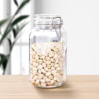 密封罐玻璃瓶带盖食品罐子蜂蜜瓶柠檬咸菜罐泡菜坛子用储物瓶子