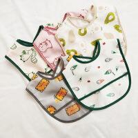 宝宝口水巾婴儿围兜宝宝卡通围嘴男女童免洗吃饭兜