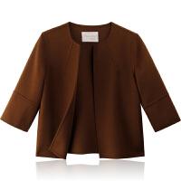 女装短款双面羊绒大衣纯手工羊毛呢外套秋冬2017新款韩版呢子外套
