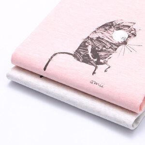 【下单立享5折】amii童装2017夏季新款女童短袖T恤卡通印花翻折袖口百搭休闲上衣