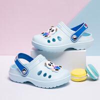 宝宝1-3岁儿童拖鞋夏季男童中小童幼儿可爱沙滩凉拖鞋女童