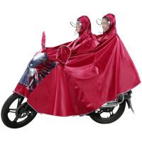 踏板车雨衣 男装125摩托车雨衣单人男士踏板电动车雨披加大加厚超大防水雨衣 5XL