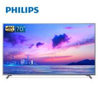 飞利浦(PHILIPS)70PUF6894/T3 70英寸 人工智能超大屏幕金属边框 16G内存4K超高清HDR网络电