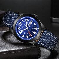 手表男高初中小学生青少年时尚非机械表潮流简约韩版防水儿童手表