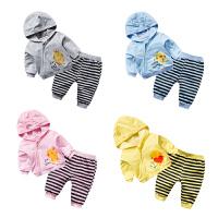 婴儿童装套装春秋女宝宝夏季0岁7个月男童春装婴幼儿长袖休闲夏款