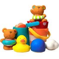 儿童婴儿宝宝洗澡玩具戏水游戏套装小鸭子发条游泳男女孩