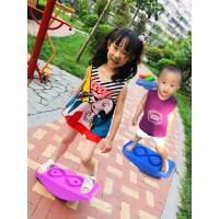 感统训练器材儿童健身平衡板玩具平衡木幼儿早教运动游戏拓展道具