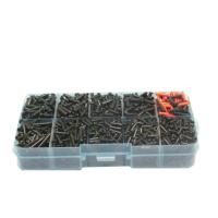 羽毛球拍护线管 盒装套装 护线管 线孔 线粒钉 双连钉 双线孔 HW 单线孔 2.1*6.0