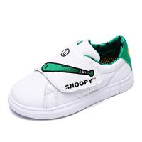 【每满100减50】史努比童鞋男童新款小白鞋宝宝运动鞋