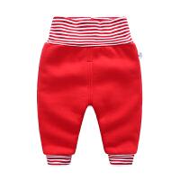 婴儿裤子女童6加绒加厚打底裤3个月宝宝新生儿冬装