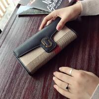 七夕�Y物格子手拿包女2018新款大容量��性�W美拉��X包女�L款手包女手�C包