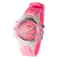 防水儿童手表 男孩女孩游泳运动指针表小学生时尚手表糖果色石英表