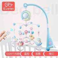 新生婴儿床铃3-6-12月男女宝宝音乐玩具旋转益智床头铃摇铃0-1岁