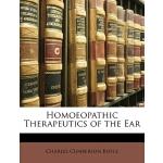 【预订】Homoeopathic Therapeutics of the Ear