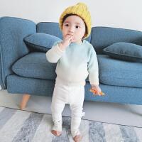 22 秋季新款婴幼儿男女童渐变色奶糖毛衣
