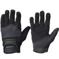 秋冬季骑行运动手套 全指男士 自行车手套防风 户外长指手套 抗震排汗