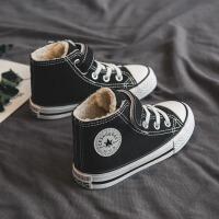 女童二棉鞋�和�帆布鞋加�q冬季男童棉鞋����童鞋