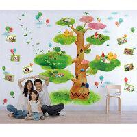宜美贴 童话树大型卡通墙贴 儿童房卧室幼儿园背景墙面装饰