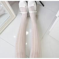 春夏波点爱心蕾丝连裤袜竖条纹天鹅绒甜丝袜薄显瘦打底袜 均码