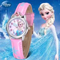 【买一送二】迪士尼儿童手表女孩防水米奇可爱小学生迪斯尼卡通石英表女童表W