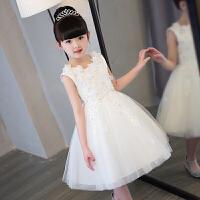 儿童礼服公主裙女孩婚纱裙蓬蓬裙花童钢琴表演服小主持生日晚礼服