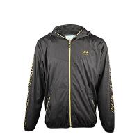 海尔斯5598运动风衣舒适透气排汗跑步健身连帽运动上衣户外运动外套