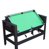 标准8杆足球台 桌上足球机 儿童台球桌 两用多功能球桌 黑色