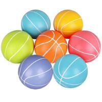 儿童小皮球加厚充气小篮球拍拍球幼儿园专用宝宝玩具球小足球3岁