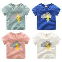 宝宝卡通短袖T恤 夏装新款男童童装儿童上衣