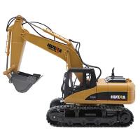 遥控车推土机合金遥控挖掘机车儿童装载机铲车玩具遥控车男孩