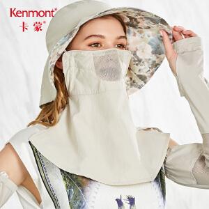 卡蒙骑车防晒口罩女夏防紫外线易呼吸透气薄款面罩加长款护脖护颈3590