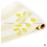 特价PVC加厚自粘墙纸自贴壁纸田园卧室客厅背景墙 10米 L2017
