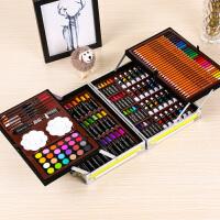 儿童画笔套装美术学习用品画画工具绘画蜡笔女孩水彩笔六一节礼物