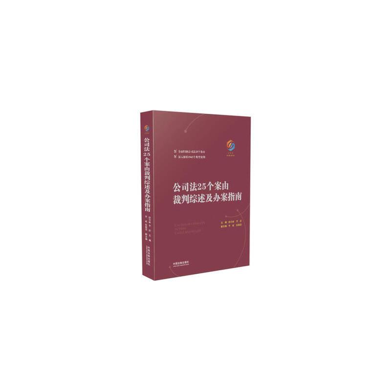公司法25个案由裁判综述及办案指南 正版书籍 限时抢购 当当低价