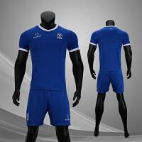 2018 准者足球服套装男款短袖比赛训练队服团购印制DIY足球衣