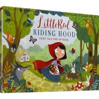 【首页抢券300-100】Fairy Tale Pop-Up Book Little Red Riding Hood 经