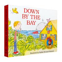 美国进口 著名音乐家拉斐的唱读系列 宝宝启蒙* Down by the Bay 在那海湾边纸板#