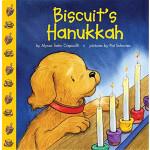 小饼干的光明节(卡板书)【英文原版】Biscuit's Hanukkah