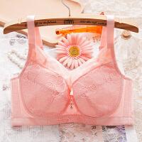 夏季内衣女文胸薄款全罩杯大胸显小大码聚拢收副乳胸罩CD透气